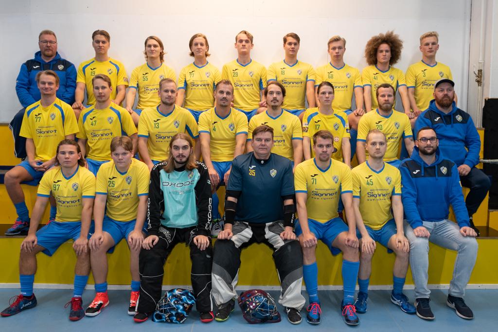 Miehet 2 joukkuekuva 2019 - 2020